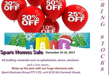 Spark Christmas Clearance Sale