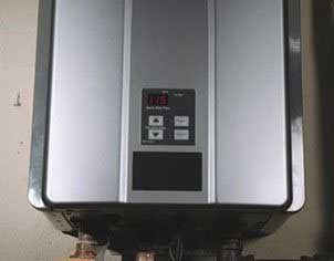 Gas Continuous Water Heater