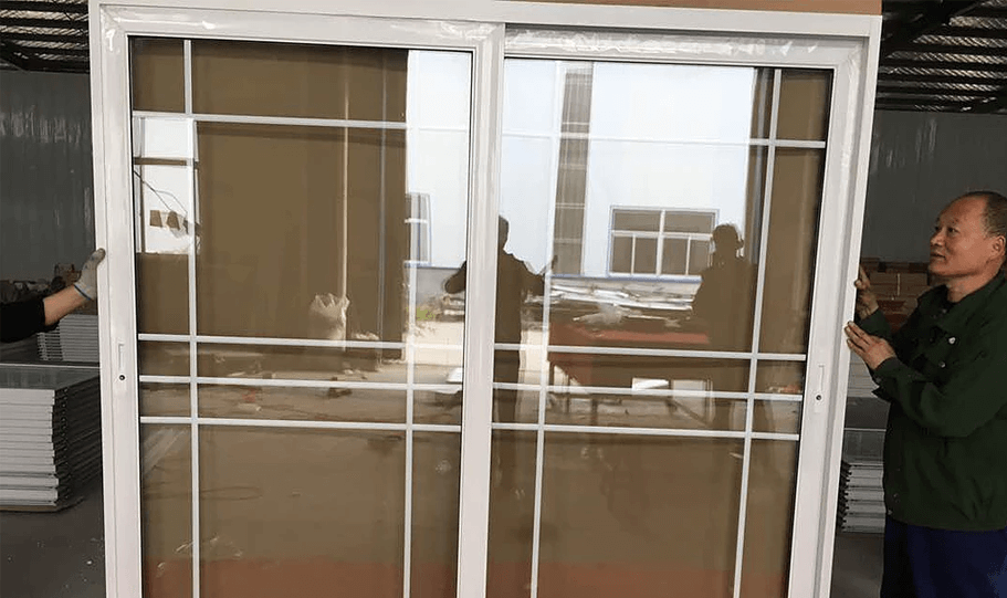 Aluminium Double Glazed Sliding Doors 06
