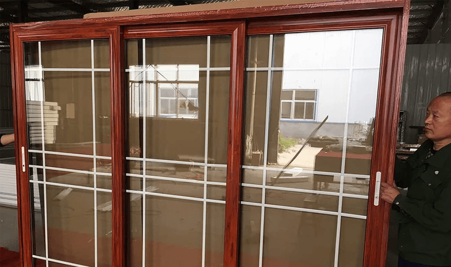 Aluminium Double Glazed Sliding Doors 08