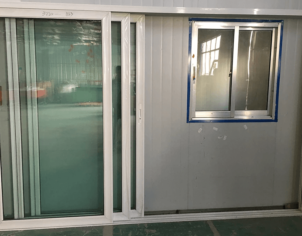 Aluminium Double Glazed Stacker Doors 01