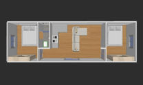 Container Large Room T Model 01