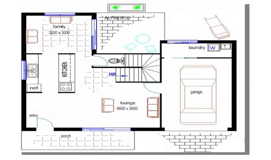 Duplex Design Plan 146 01