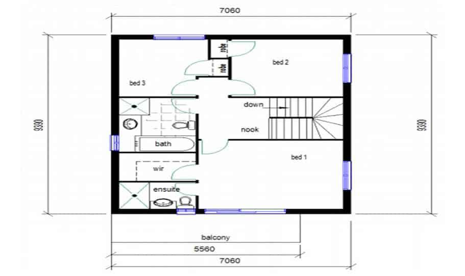 Duplex Design Plan 146 03
