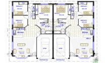 Duplex Design Plan 237 Duk 01