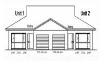 Duplex Design Plan 237 DUK 03