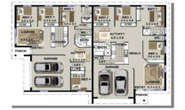 Duplex Design Plan 318 T 01
