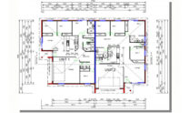 Duplex Design Plan 318 T 02