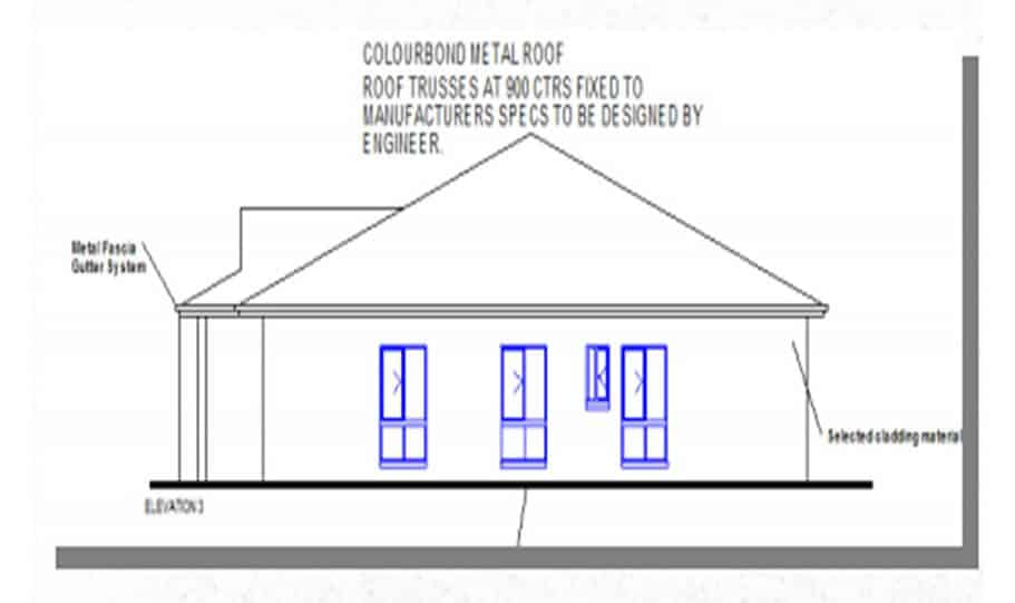 Duplex Design Plan 318 T 05