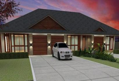 Duplex Design Plan 336 DUK 01