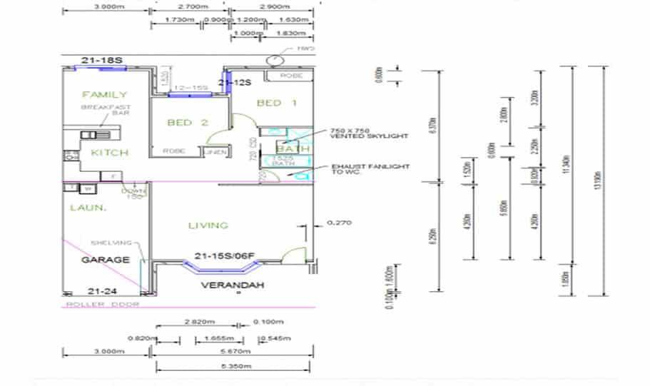 Duplex Design Plan 336 DUK 05