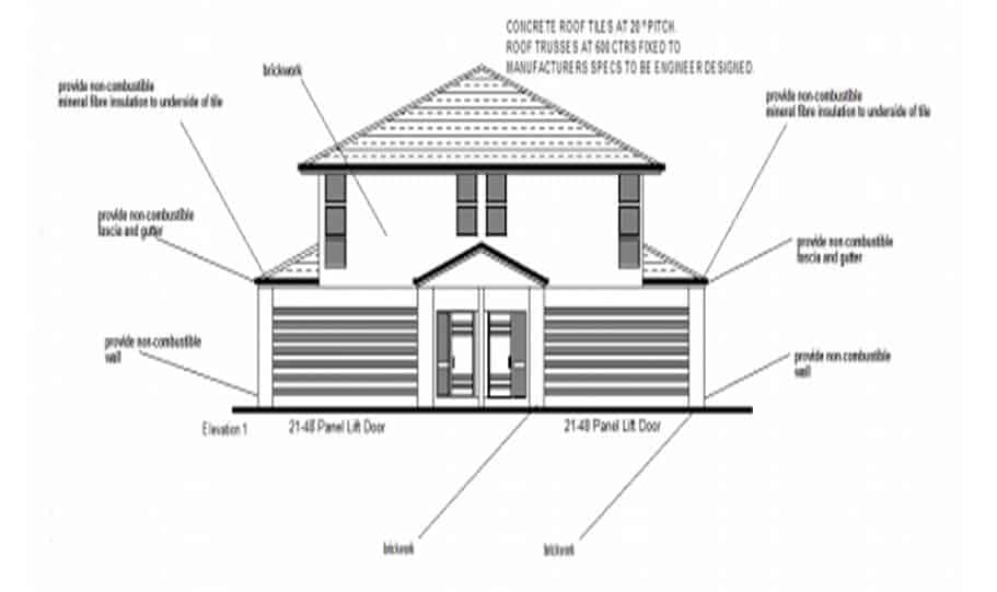 Duplex Kit Design Home Plan – 491N 03