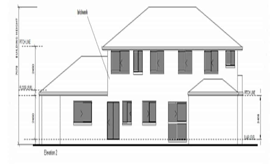 Duplex Kit Design Home Plan – 491N 04