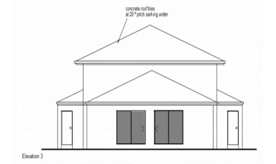 Duplex Kit Design Home Plan – 491N 05