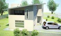 Duplex Kit Home Design Plan 213 01