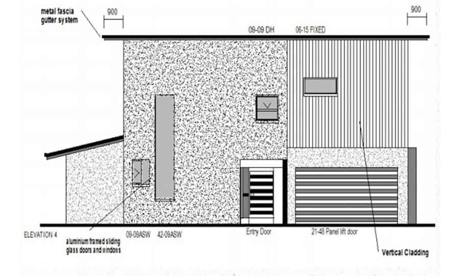 Duplex Kit Home Design Plan 213 09