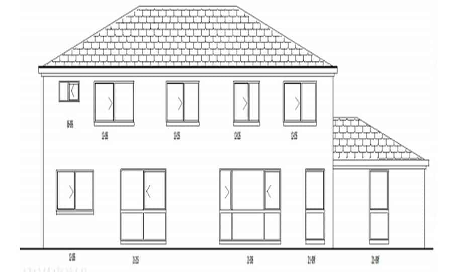 Duplex Kit Home Design Plan 297a 06