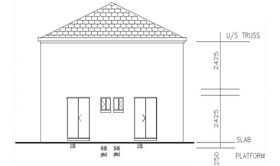 Duplex Kit Home Design Plan 297a 07