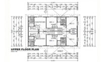 Duplex Kit Home Design Plan 297B 02