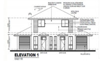Duplex Kit Home Design Plan 297B 03