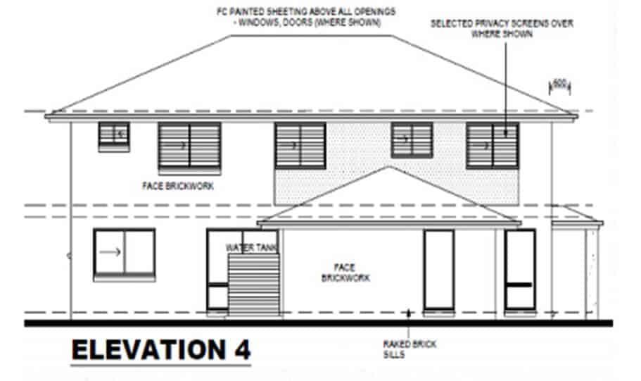 Duplex Kit Home Design Plan 297b 06