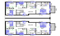 Duplex Kit Home Design Plan 299t 01