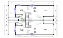 Duplex Kit Home Design Plan 299t 04