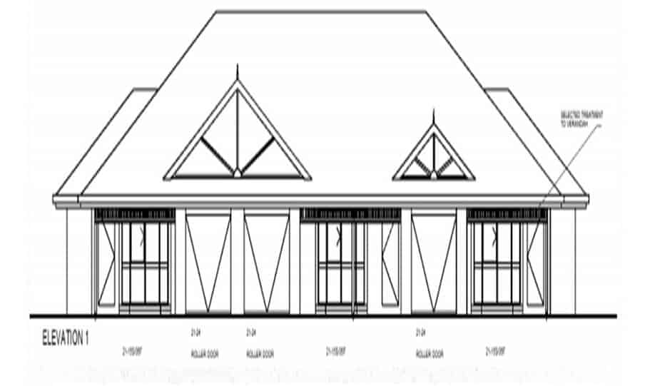 Duplex Kit Home Design Plan 345 TD 01