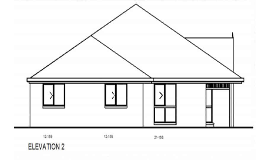 Duplex Kit Home Design Plan 345 TD 02