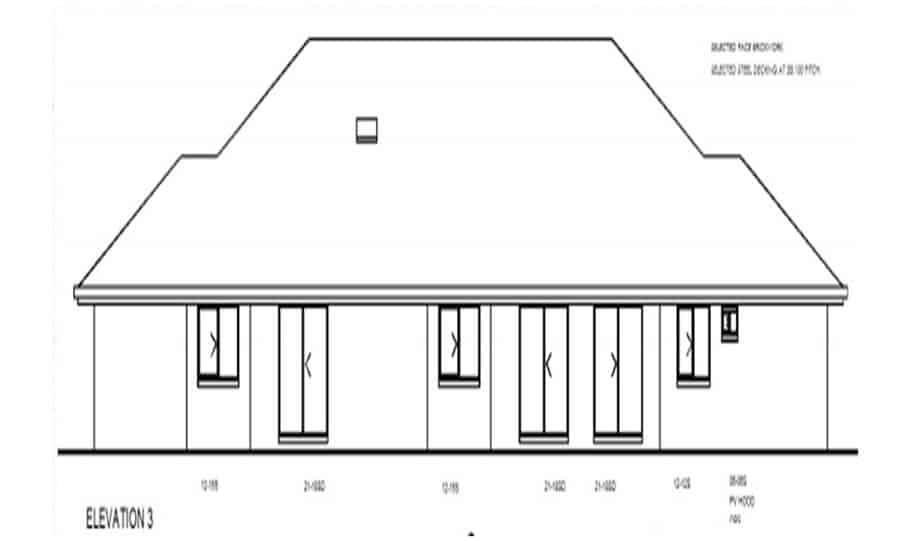 Duplex Kit Home Design Plan 345 TD 03