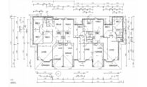 Duplex Kit Home Design Plan 345 TD 06