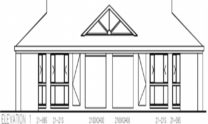 Duplex Kit Home Plan 234DUK 234.2m2 6 Bedrooms 2 Bath 4