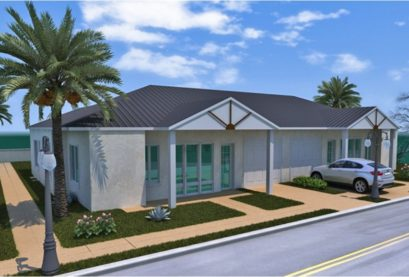 Duplex Kit Home Plan 234duk, 234.2m2, 6 Bedrooms 2 Bath