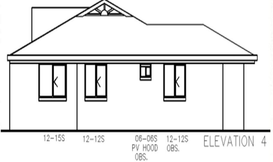 Duplex Kit Home Plan 234DUK 234.2m2 6 Bedrooms 2 Bath 7