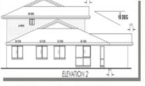 Duplex Kit Home Plan 380TH 380m2 12 Bedrooms 4 Bath 7