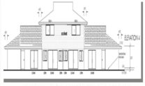 Duplex Kit Home Plan 380TH 380m2 12 Bedrooms 4 Bath 9