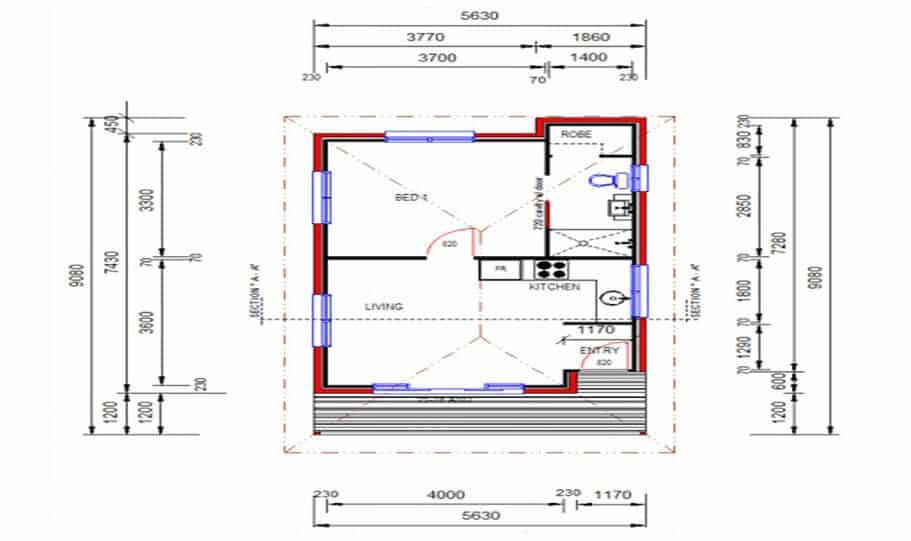 Granny Flat Kit Home Design 49 05 1