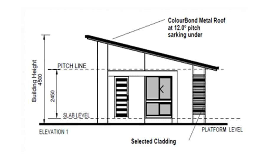 Granny Flat Kit Home Plan 57 Spark Homes