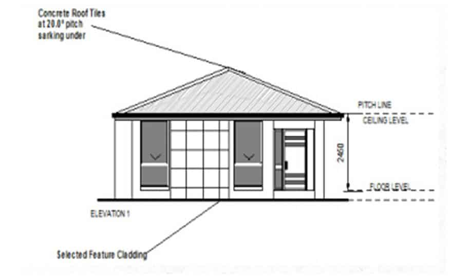 Granny Flat Kit Home Design 60A 03