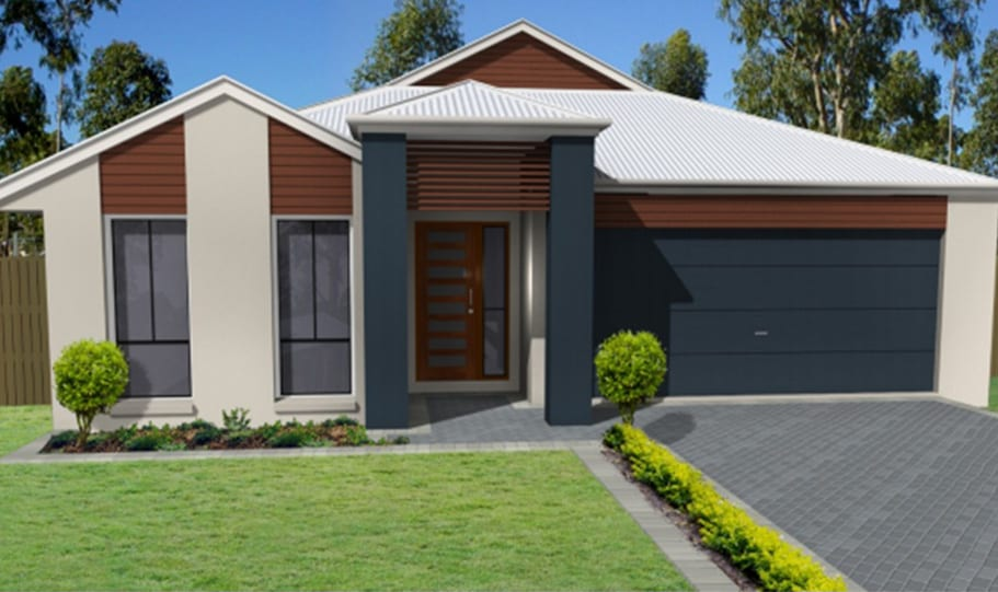 One Storey Kit Home, Plan 288 – 288.3 M2, 3 Bed 2 Bath (1)