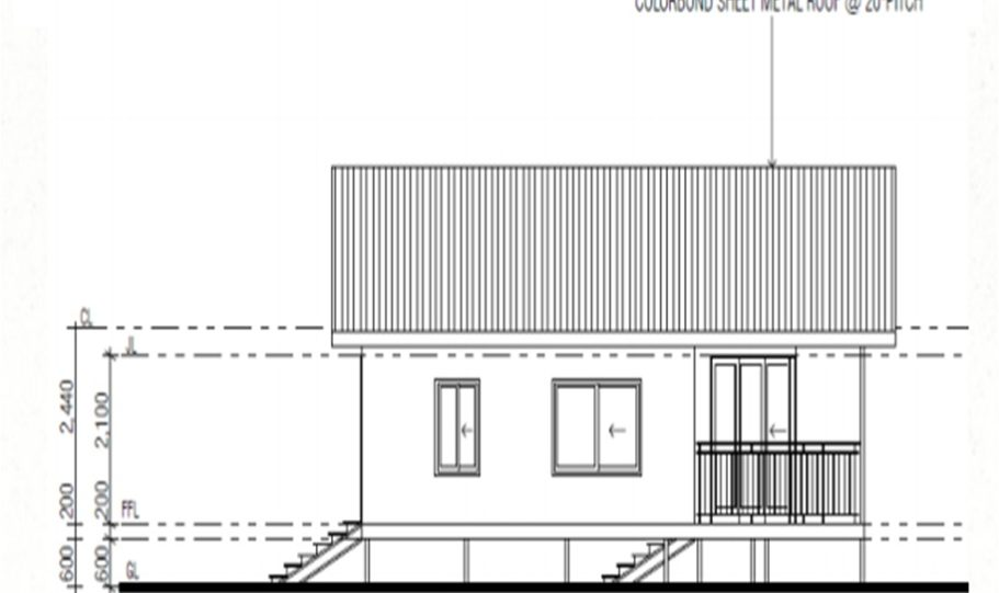 One Storey Kit Homes Plan 100 A 100 m2 2 Bed 11