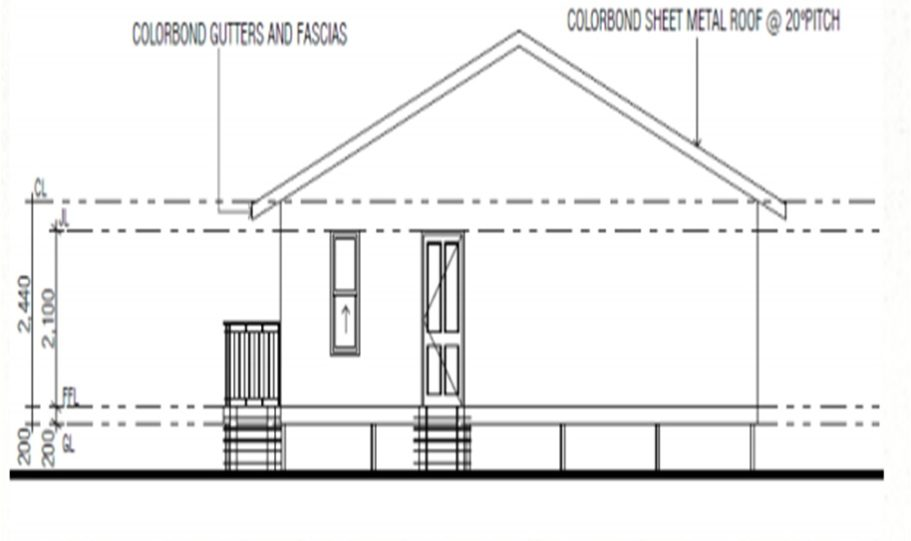 One Storey Kit Homes Plan 100 A 100 m2 2 Bed 13
