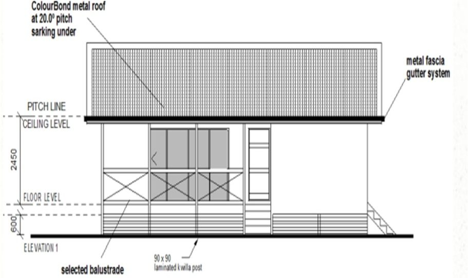 One Storey Kit Homes Plan 112, 112m2, 3 Bed 2 Bath (10)