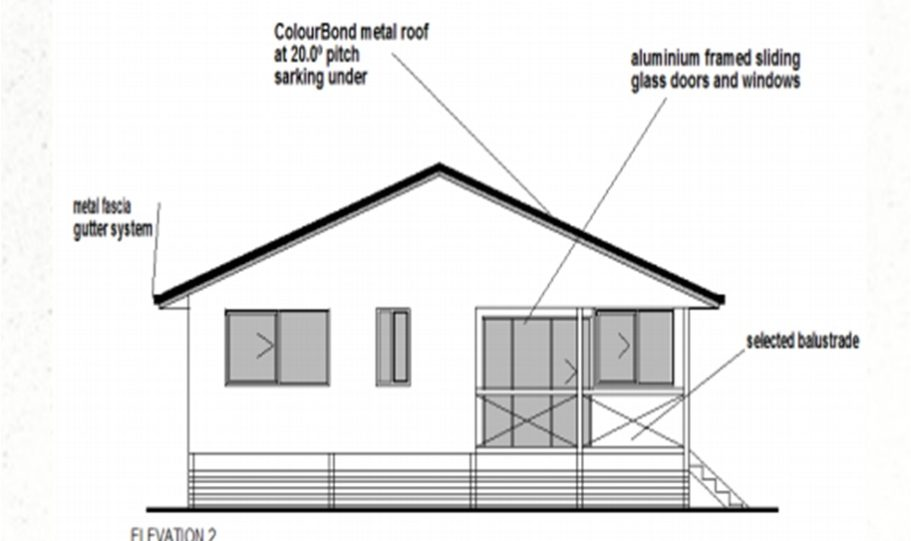 One Storey Kit Homes Plan 112, 112m2, 3 Bed 2 Bath (11)