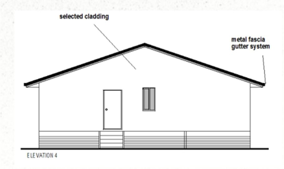 One Storey Kit Homes Plan 112, 112m2, 3 Bed 2 Bath (13)