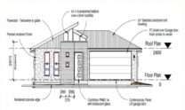 One Storey Kit Homes Plan 181, 182m2, 4 Bed 2 Bath (10)