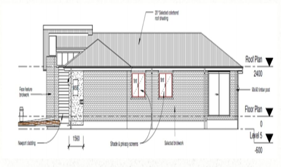 One Storey Kit Homes Plan 181, 182m2, 4 Bed 2 Bath (12)