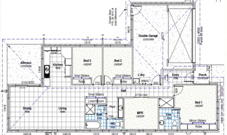 One Storey Kit Homes Plan 181 182m2 4 Bed 2 Bath 8