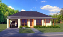 One Storey Plan 127 07
