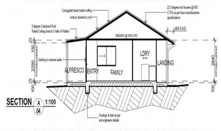 One Storey Plan 148 05